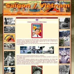 Samedi 2 novembre 1963, coup d'État à Saïgon