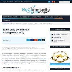 Etam ou le community management sexy