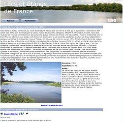 Etang de Fleury La Tour situé en Nièvre (58)