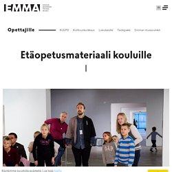 Etäopetusmateriaali kouluille - EMMA