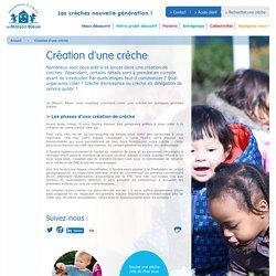 Les étapes pour créer une crèche - La Maison Bleue