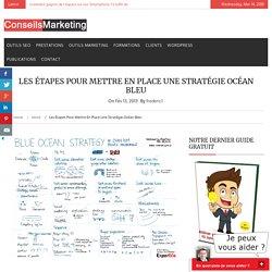 Les 6 étapes pour mettre en place une stratégie Océan BleuConseilsMarketing.fr