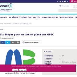 Six étapes pour mettre en place une GPEC