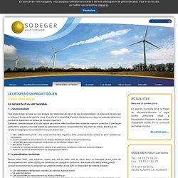 Les étapes d'un projet éolien - Sodeger