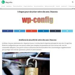 5 étapes pour sécuriser votre site avec .htaccess - Blog Infos