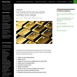 9 étapes pour valider votre site web