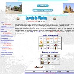 Etapes de la voie de vézelay