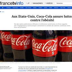 Aux Etats-Unis, Coca-Cola assure lutter contre l'obésité