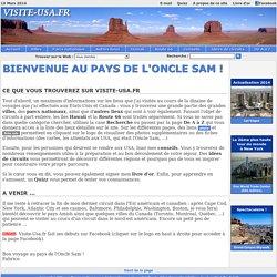 Etats-Unis - Bienvenue au pays de l'Oncle Sam - www.visite-usa.fr