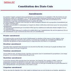 Etats-Unis, Constitution américaine, 1787, USA, MJP