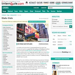 Etats-Unis - Guide de voyage - Tourisme