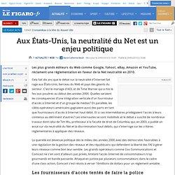 Web : Aux États-Unis, la neutralité du Net est un en