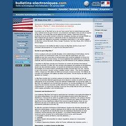 2013/06/14> BE Etats-Unis335> Big Data - Partie 1 : Une révolution en marche