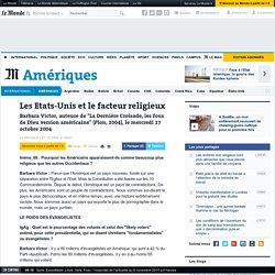 Les Etats-Unis et le facteur religieux