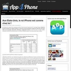 Aux Etats-Unis, le roi iPhone est comme chez lui