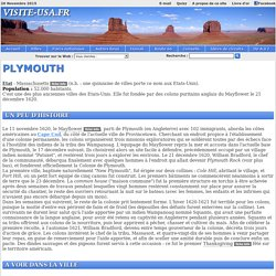 Etats-Unis - Plymouth - www.visite-usa.fr