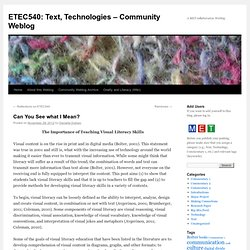 ETEC540: Text, Technologies – Community Weblog