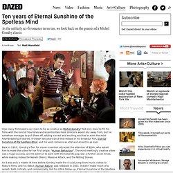 Ten years of Eternal Sunshine of the Spotless Mind