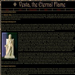 Vesta, the Eternal Flame