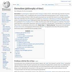 Eternalism (philosophy of time)