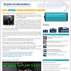 Brique solaire éternelle à supercondensateur (Infinity Sun Jar)