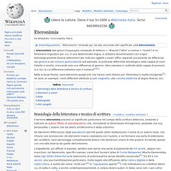 Eteronimia