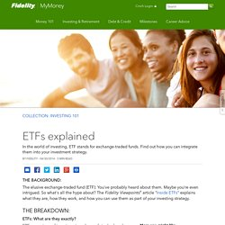ETFs explained