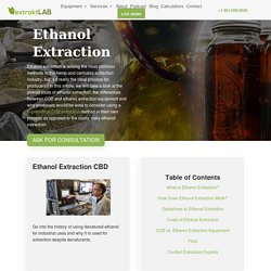 Is it the Ideal Cannabis Extraction Process