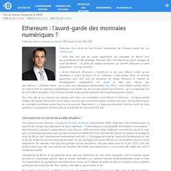 Ethereum : l'avant-garde des monnaies numériques ? – Bitcoin.fr