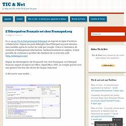 L'Etherpad en Français est chez Framapad.org