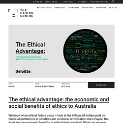 The Ethical Advantage - The Ethics Centre