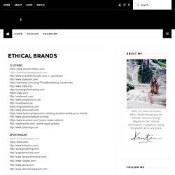 ETHICAL BRANDS - Kristen Leo