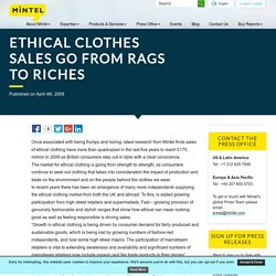 Ethical clothes sales go from rags to riches