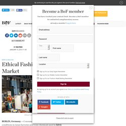 Ethical Fashion Brands Target Mass Market