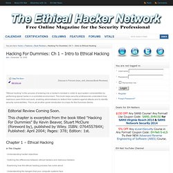 Ethical Hacker Network