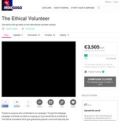 Video: The Ethical Volunteer