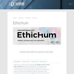 EthicHum - MSH SUD, Maison des Sciences de l'Homme, les Sciences Unies pour un autre Développement