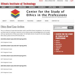 Center For The Study Of Ethics In The Professions