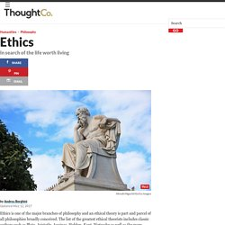 Ethics: the Search of the Life Worth Living