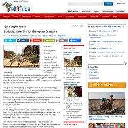 Ethiopia: New Era for Ethiopian Diaspora