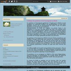 L'éthique du praticien et de l'enseignant en Reiki - Reiki-reunion