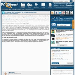 Le site UMP sur l'éthique des TIC vs Sarko anti-net remix - PC I