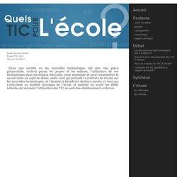 Éthique des TIC - Groupe ECOL2