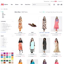 Ethnic Wear at Myntra