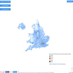 UK Ethnicity Map: One Dot Per Person