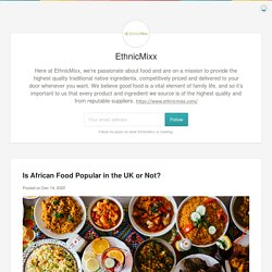 EthnicMixx Online Grocery Supermarket in UK