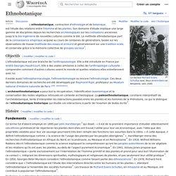 Ethnobotanique