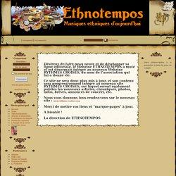 ETHNOTEMPOS - Revue en ligne sur les musiques du monde