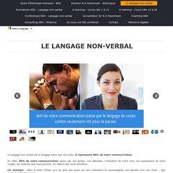 Ecole d'Ethologie Humaine - Le langage non-verbal