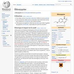 Éthoxyquine Wikipédia